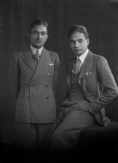 R. Siddiki; N.L. Sadana, by Lafayette - NPG x184793