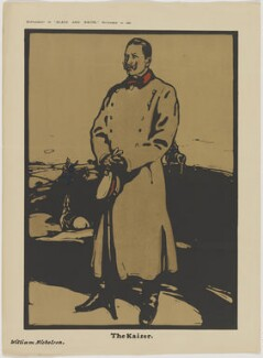 Wilhelm II, Emperor of Germany and King of Prussia, after Sir William Newzam Prior Nicholson - NPG D48197