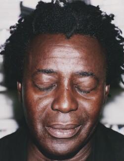 John Akomfrah, by Ben McMahon - NPG x200135
