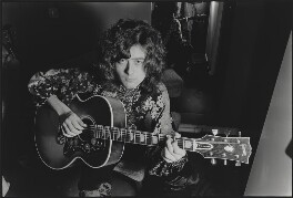 James Patrick ('Jimmy') Page, by Alec Byrne - NPG x200076