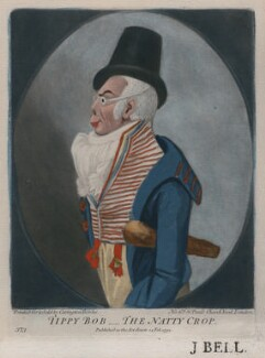 Possibly Joseph Shepherd Munden ('Tippy Bob - The Natty Crop'), published by Carington Bowles, after  Robert Dighton - NPG D47153