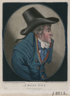 A Deep One, published by Bowles & Carver, after  Robert Dighton - NPG D47158