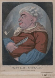 I Von't Take a Farden Less, published by Bowles & Carver, after  Robert Dighton - NPG D47159