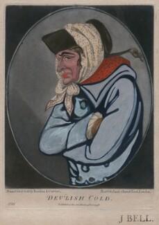 Dev'lish Cold, published by Bowles & Carver, after  Robert Dighton - NPG D47160