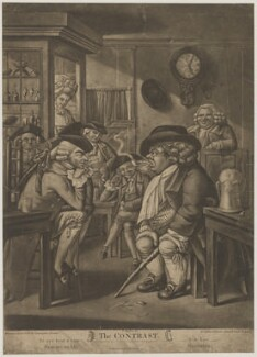 The Contrast (includes John Bull), published by Carington Bowles, after  Robert Dighton - NPG D47046