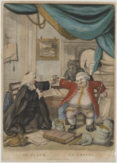 'In Place . En Emploi.', published by Carington Bowles, after  Robert Dighton - NPG D47047