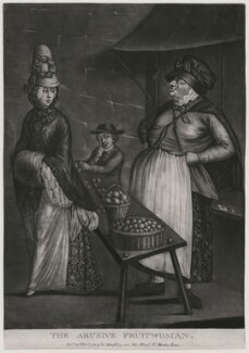 The Abusive Fruitwoman, published by William Humphrey - NPG D47053