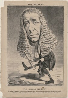 William Campbell Sleigh ('The Common Serjeant'), published by Frederick Arnold, after  Unknown artist - NPG D48218