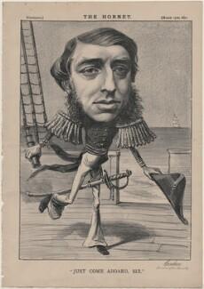 George Joachim Goschen, 1st Viscount Goschen ('Just Come Aboard, Sir'), published by Frederick Arnold, after  Unknown artist - NPG D48227