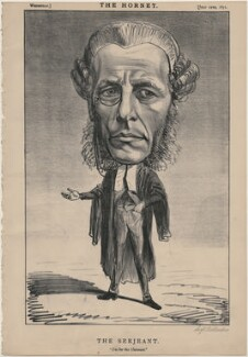 William Ballantine ('The Serjeant'), published by Frederick Arnold, after  Unknown artist - NPG D48244
