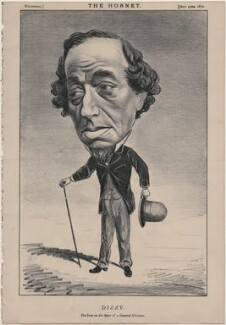 Benjamin Disraeli, Earl of Beaconsfield ('Dizzy'), published by Frederick Arnold, after  Unknown artist - NPG D48245
