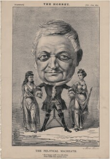Louis Adolphe Thiers ('The Political MacHeath'), published by Frederick Arnold, after  Unknown artist - NPG D48258