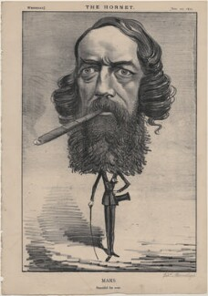 Thomas Heron Jones, 7th Viscount Ranelagh ('Mars'), published by Frederick Arnold, after  Unknown artist - NPG D48260