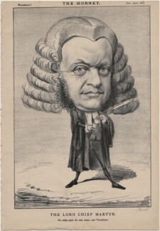 Sir William Bovill ('The Lord Chief Martyr'), published by Frederick Arnold, after  Unknown artist - NPG D48264