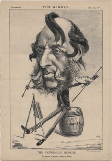 George Cruikshank ('The Venerable George'), published by Frederick Arnold, after  Unknown artist - NPG D48265