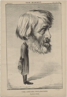 Thomas Carlyle ('The Chelsea Philosopher'), published by Frederick Arnold, after  Unknown artist - NPG D48271