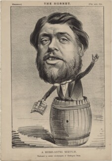 Charles Haddon Spurgeon ('A Rome-antic Sketch'), published by Frederick Arnold, after  Unknown artist - NPG D48275