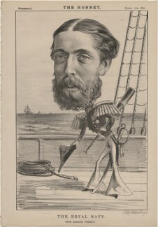 Prince Alfred, Duke of Edinburgh and Saxe-Coburg and Gotha ('The Royal Navy. Our Sailor Prince'), published by Frederick Arnold, after  Unknown artist - NPG D48284