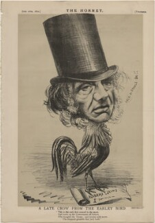John Russell, 1st Earl Russell ('A Late Crow from the Earley Bird'), published by Frederick Arnold, after  Unknown artist - NPG D48294