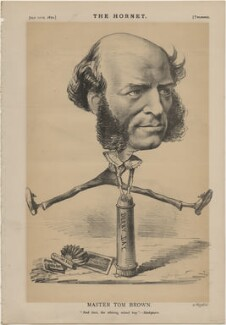 Thomas Hughes ('Master Tom Brown'), published by Frederick Arnold, after  Unknown artist - NPG D48296