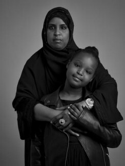 Hibo Wardere with her daughter, by Jason Ashwood, 2016 - NPG  - © Jason Ashwood