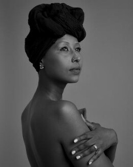 Hoda Ali, by Jason Ashwood - NPG x200130