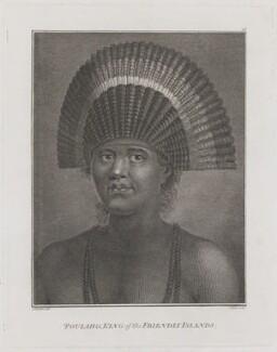 Fatafehi Paulaho (Poulaho), by John Hall, after  John Webber - NPG D48331