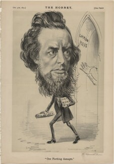 William Hepworth Dixon ('One Farthing Damages'), published by Frederick Arnold, after  Unknown artist - NPG D48317