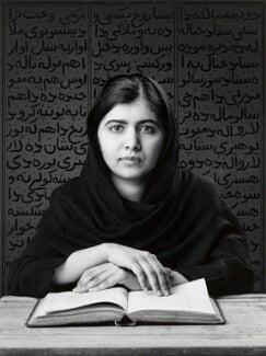 Malala Yousafzai, by Shirin Neshat - NPG 7053