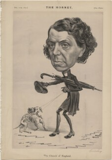 Archibald Campbell Tait ('The Church of England'), published by Frederick Arnold, after  Unknown artist - NPG D48318