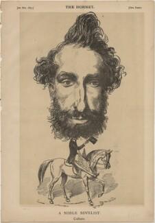 Edward George Earle Lytton Bulwer-Lytton, 1st Baron Lytton ('A Noble Novelist. Culture.'), published by Frederick Arnold, after  Unknown artist - NPG D48323