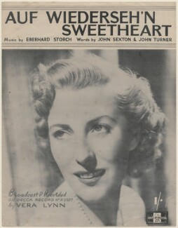 Dame Vera Lynn (Vera Margaret Lewis (née Welch)), published by The Peter Maurice Music Co Ltd, after  Unknown photographer - NPG D48043
