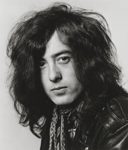 James Patrick ('Jimmy') Page, by Dick Barnatt - NPG x200207