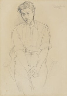 Jeffrey Joseph Bernard, by John Minton - NPG 7059