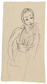Unknown sitter, by Cecil Beaton - NPG D3639