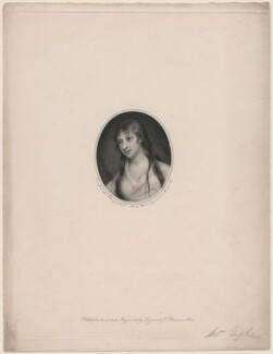 Mary Tighe, by Caroline Watson, published by  Longman & Co, after  John Comerford, after  George Romney - NPG D48048