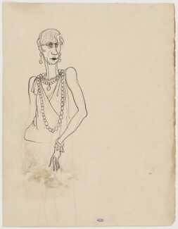 Unknown sitter, by Cecil Beaton - NPG D3640
