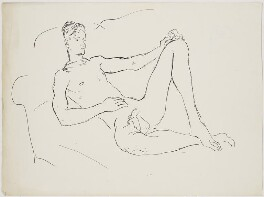 Unknown sitter, by Cecil Beaton - NPG D3635