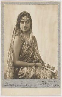 Maharaj Kumari Lalitarni Devi of Burdwan, by Dorothy Wilding - NPG x200212