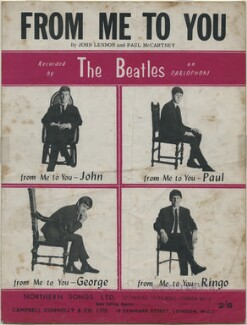Sheet music cover for 'From Me to You' by The Beatles (John Lennon; Paul McCartney; George Harrison; Ringo Starr), published by Northern Songs Ltd, after  Astrid Kirchherr - NPG D48342