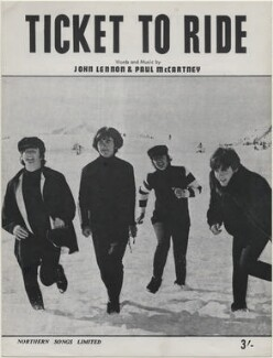 The Beatles (John Lennon; George Harrison; Ringo Starr; Paul McCartney), published by Northern Songs Ltd, after  Unknown photographer - NPG D48347