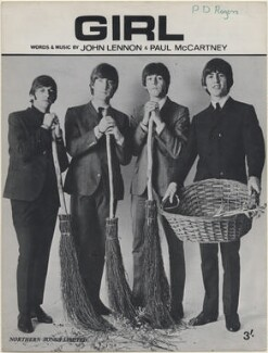 The Beatles (Ringo Starr; John Lennon; Paul McCartney; George Harrison), published by Northern Songs Ltd, after  Unknown photographer - NPG D48348