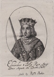 King Edward I, after a print published by Sir Robert Peake - NPG D48627