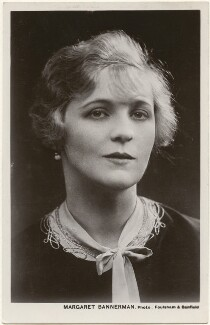 Margaret Bannerman, by Foulsham & Banfield, published by  Rotary Photographic Co Ltd - NPG x201008