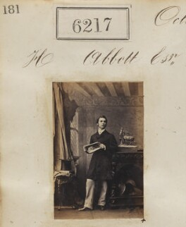 Mr H. Abbott, by Camille Silvy - NPG Ax56163