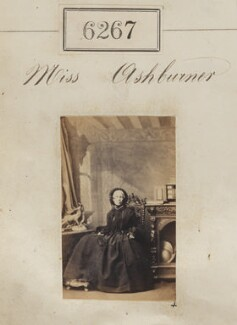 Miss Ashburner, by Camille Silvy - NPG Ax56212