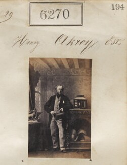 Henry Akroyd, by Camille Silvy - NPG Ax56215