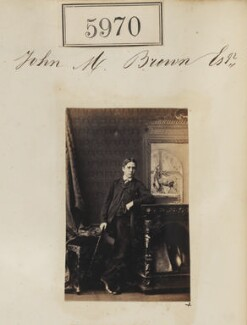 John M. Brown, by Camille Silvy - NPG Ax55925