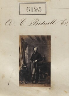 Mr A.C. Bidwell, by Camille Silvy - NPG Ax56141