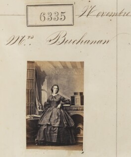 Mrs Buchanan, by Camille Silvy - NPG Ax56280